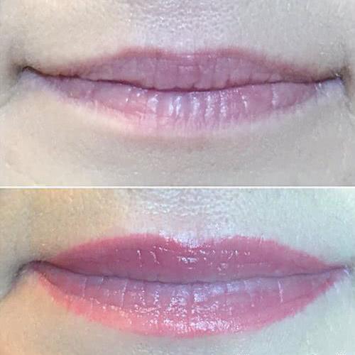 возрастной татуаж губ