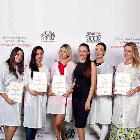 Мастера перманентного макияжа - выпуск Академии Виктории Рудько