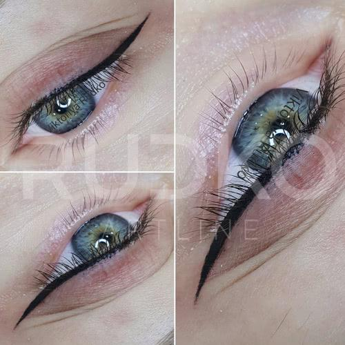 Hollywood eye makeup is slightly dramatic, but certainly memorable