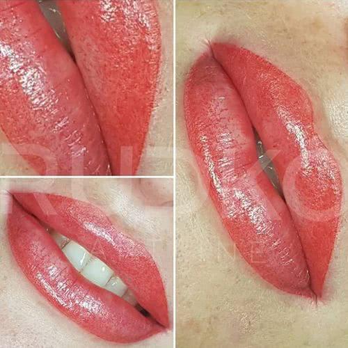 перманентный макияж губ киев фото сразу