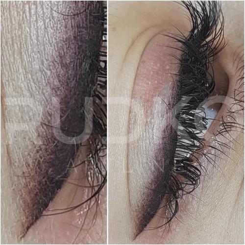 перманентный макияж верхнего века киев