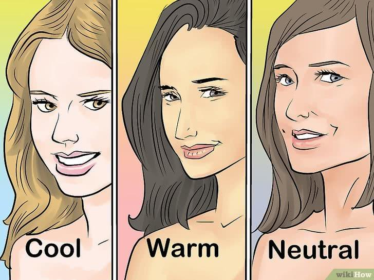 How to determine natural skin tone