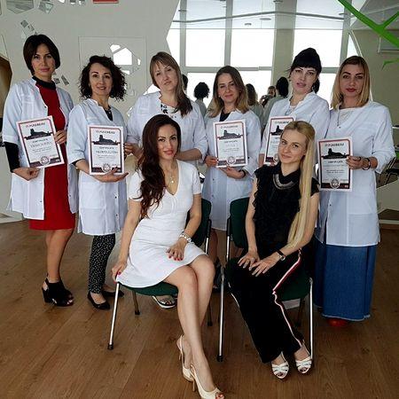 ученики Виктории РУдько Киев татуаж