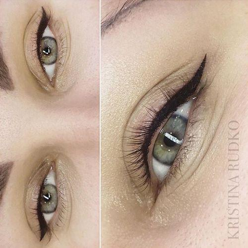 If you like bright, expressive makeup, we recommend glamorous permanent eyeliner
