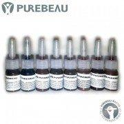 Миниатюры пигментов для бровей Purebeau, 3 мл