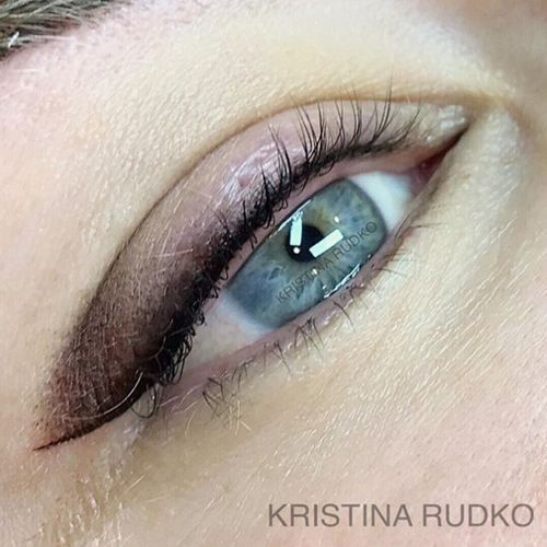 перманентный макияж век киев