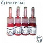 Миниатюры пигментов для губ Purebeau, 3 мл