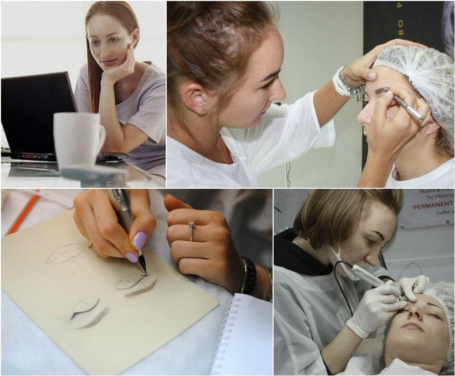 You should study and practice 24/7 to become a real permanent makeup artist