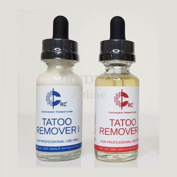 Ремувер crc для удаления татуажа