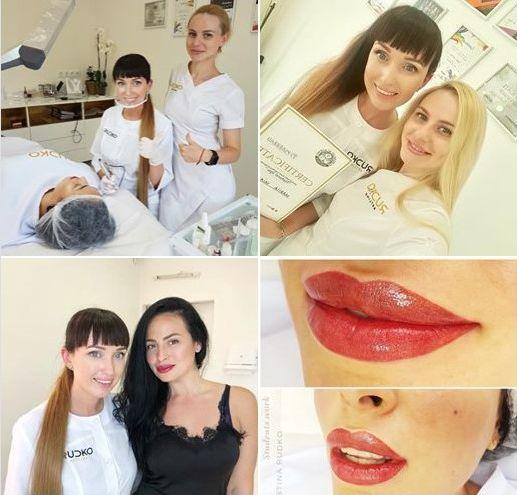 training in permanent make-up in Europe