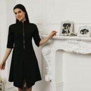 Платье на молнии для мастера салона Модель 013