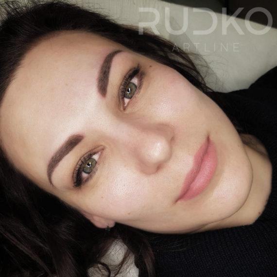 киев перманентный макияж бровей