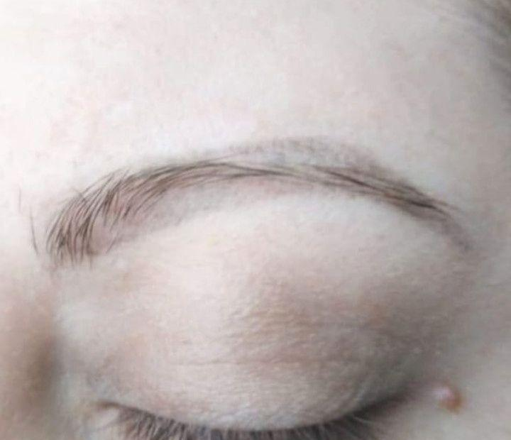 Sometimes permanent makeup fades after healing and only , after correction the results become close to the ideal