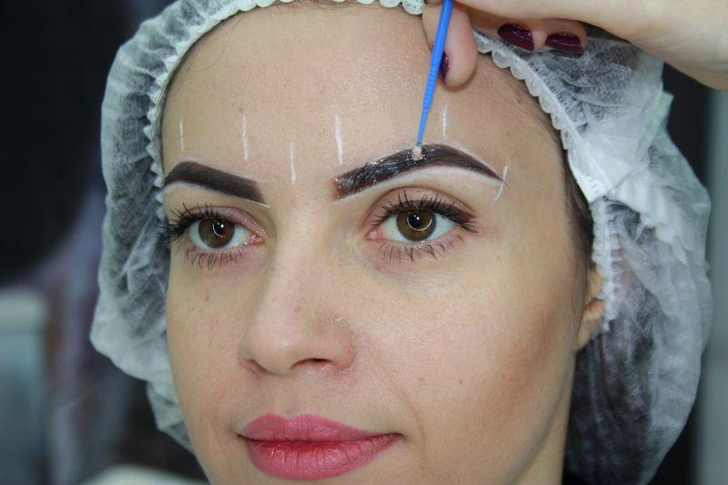 Permanent makeup topical anesthesia